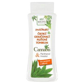 Bione Cosmetics Bio Cannabis zvláčňujúce čistiace pleťové tonikum 255 ml