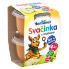 Hamánek Svačinka Baby Food Apple Pear 2 x 130 g