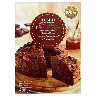 Tesco Loose Mixture to Cocoa Cake with Chocolate 400 g