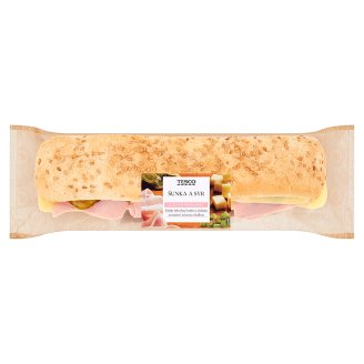 Tesco Baguette Ham and Cheese 236 g