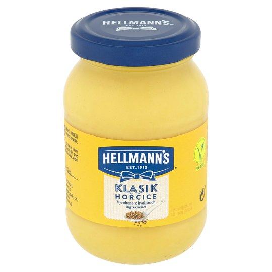 Hellmann's Klasik horčica plnotučná 240 g