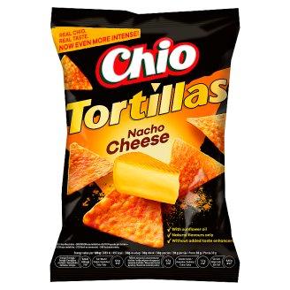 Chio Tortillas kukuričný snack s príchuťou syra 125 g