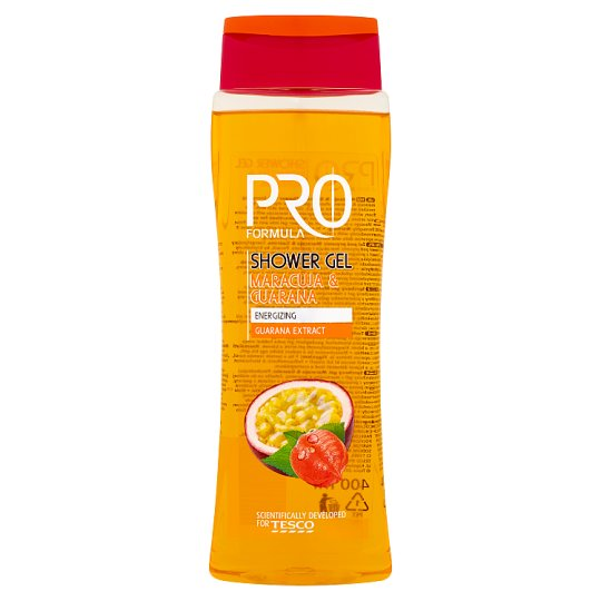 Tesco Pro Formula Maracuja & guarana sprchový gél 400 ml