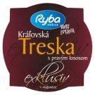 Ryba More Zdravia Exklusív Royal Cod with Real Salmon in Mayonnaise 140 g