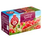 TEEKANNE Cranberry & Raspberry, World of Fruits, 20 Tea Bags, 45 g