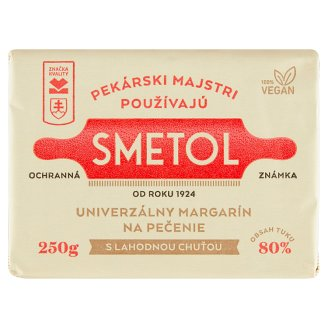 Smetol Delicious Margarine for Baking with Butter Flavour 250 g