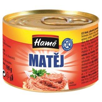 Hamé Matej pikantná nátierka na hrianky 190 g
