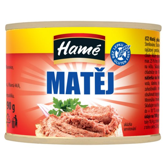 Hamé Matej Spicy Toast Spread 190 g
