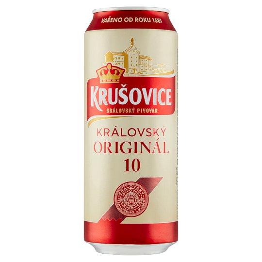 Krušovice Royal 10 Light Draft Beer 0.5 L