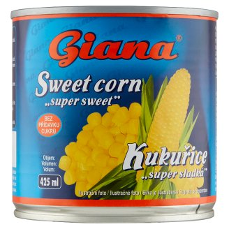 Giana Kukurica vákuovaná 340 g