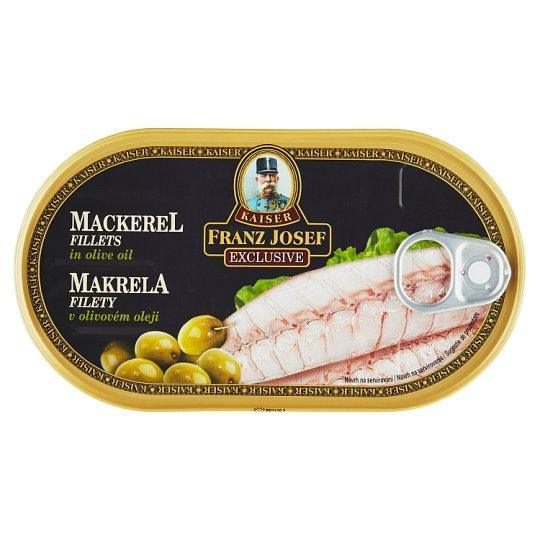 Kaiser Franz Josef Exclusive Mackerel Fillets in Olive Oil 170 g