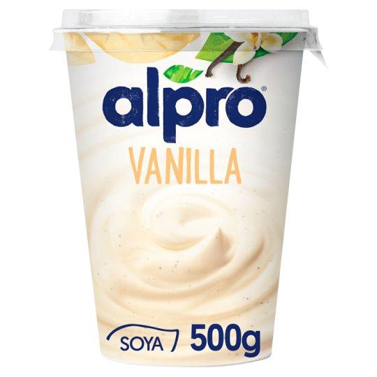 Alpro Fermentovaný sójový výrobok vanilka 500 g