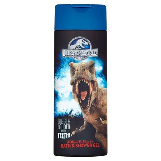 Jurassic World - Shower and Bath Gel for Kids 2in1 400 ml