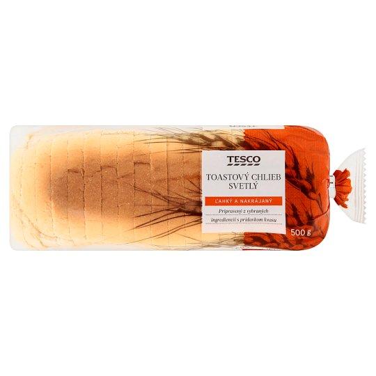 Tesco Toastový chlieb svetlý 500 g