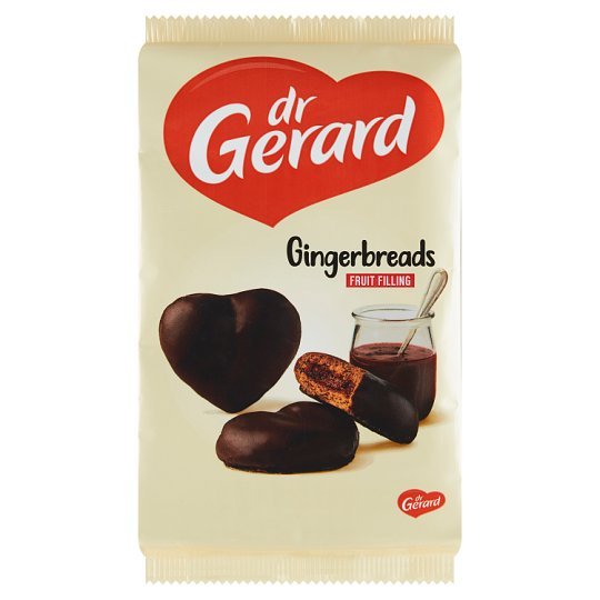 dr Gerard Gingerbreads with Multi-Fruit Filling in Cocoa Glaze 175 g