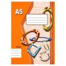 Papírny Brno 523e Lined Exercise Book A5 20 Sheets