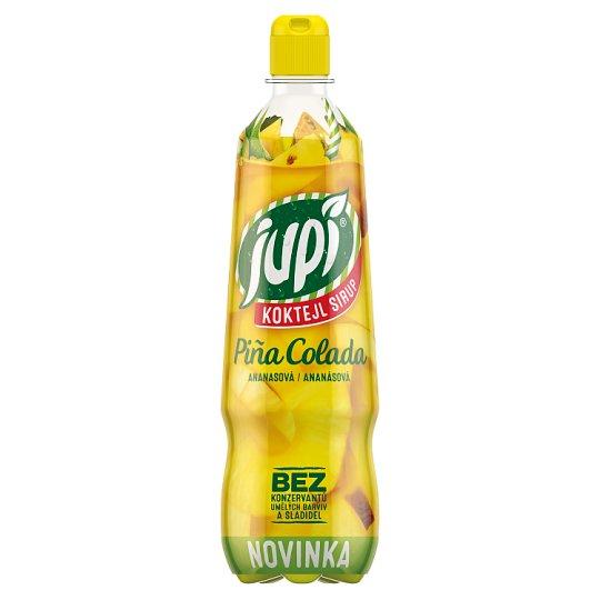 Jupí Koktejl Sirup Piña Colada ananásová 0,7 l