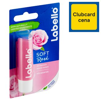 Labello Soft Rosé Caring Lip Balm 4.8 g