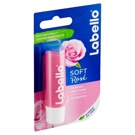 Labello Soft Rosé Ošetrujúci balzam na pery 4,8 g