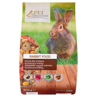 Tesco Pet Specialist Krmivo pre králiky 800 g