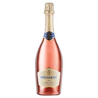 Château Topoľčianky Prezident frankovka modrá šumivé víno ružové sladké 0,75 l