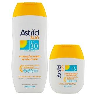 Astrid Sun Hydratačné mlieko na opaľovanie OF 30 200 ml + mlieko na opaľovanie OF 15 80 ml