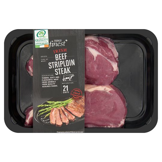 Tesco Finest Irish Striploin Steak 0.400 g