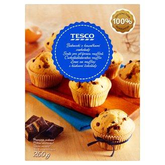 Tesco Zmes na muffiny s kúskami čokolády 260 g