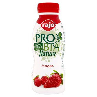 Rajo Probia Nature Strawberry Yoghurt Drink 330 g