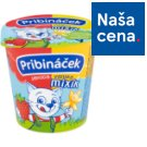 Pribináček Mixík Strawberry-Vanilla 125 g