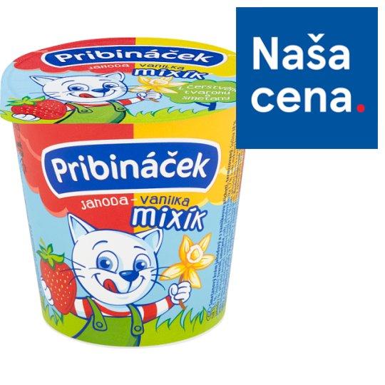 Pribináček Mixík jahoda-vanilka 125 g