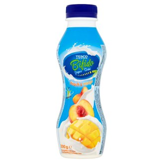 Tesco Bifido Yoghurt Drink with Peach & Mango 300 g