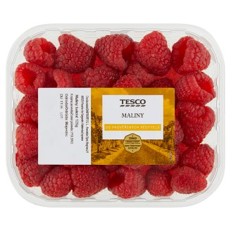 Tesco Raspberry Packed 125 g