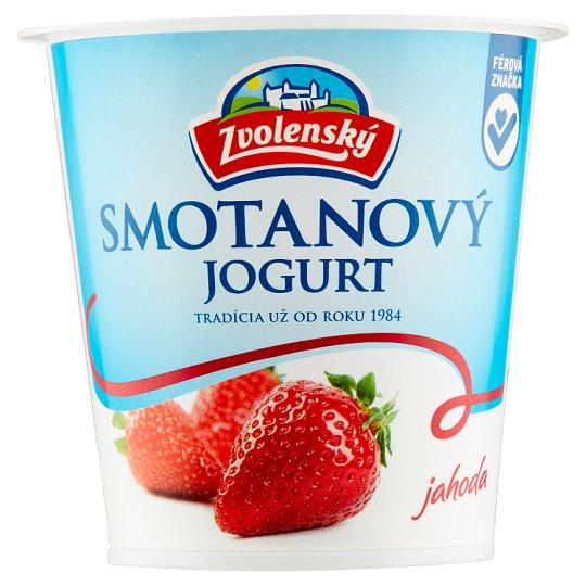 Zvolenský Strawberry Cream Yoghurt 145 g