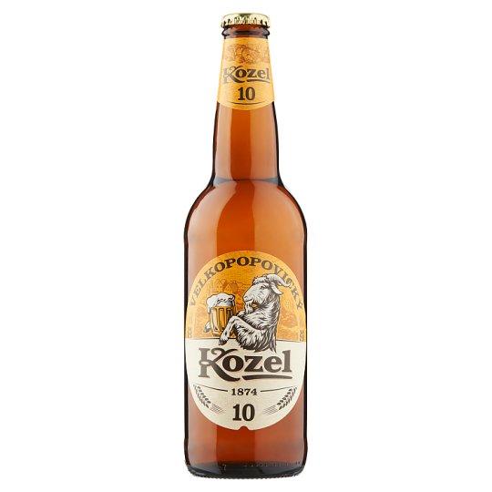 Velkopopovický Kozel 10% pivo výčapné svetlé 500 ml