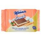 Manner Snack Wafers Filled with Milk Cream and Hazelnut Cream 4 x 25 g