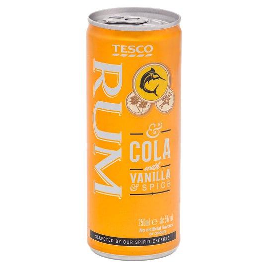 Tesco Rum & Cola 250 ml