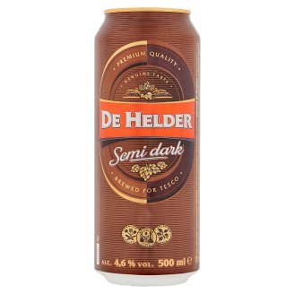 De Helder Beer Semi-Dark Lager Beer 500 ml