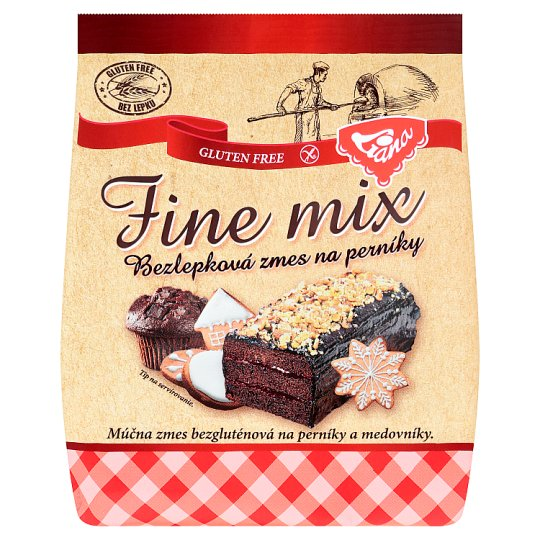 Liana Fine Mix Gluten-Free Gingerbread Mixture 300 g