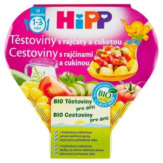 HiPP Bio cestoviny pre deti s rajčinami a cukinou 250 g