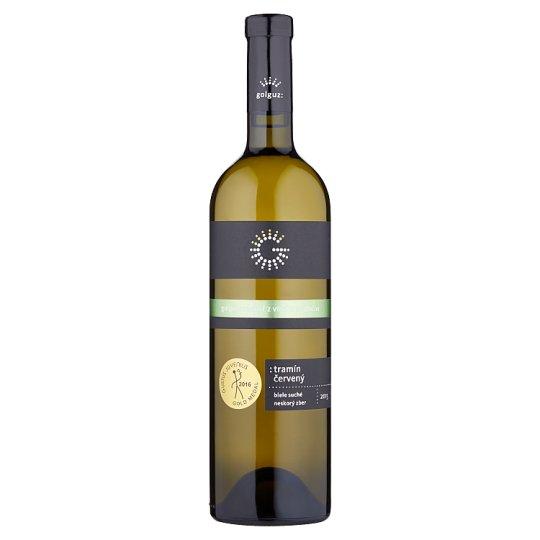 Golguz Tramín červený víno biele suché neskorý zber 0,75 l
