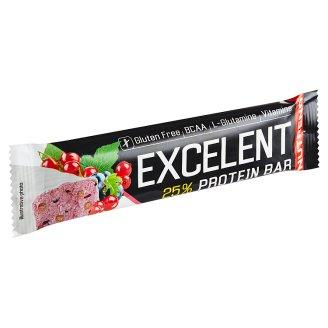 Nutrend Excelent Protein Bar príchuť čierna ríbezľa s brusnicami 85 g