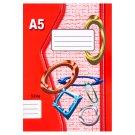Papírny Brno 524e linajkovaný zošit A5 20 listov