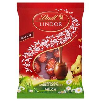 Lindt Lindor Mini Eggs Milk mliečne čokoládové bonbóny s jemnou krémovou náplňou 100 g