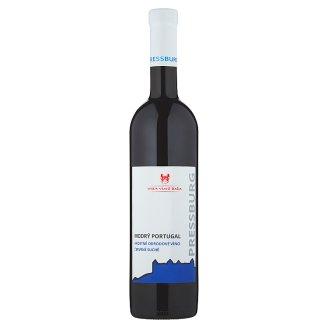 Villa Vino Rača Pressburg Modrý Portugal akostné odrodové víno červené suché 0,75 l