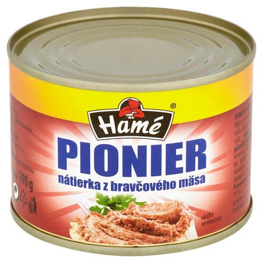 Hamé Pionier nátierka z bravčového mäsa 190 g