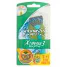 Wilkinson Sword Xtreme3 Sensitive Disposable Razors 3 Blade Razor 4 pcs