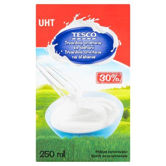 Tesco Durable Whipping Cream 30 % 250 ml