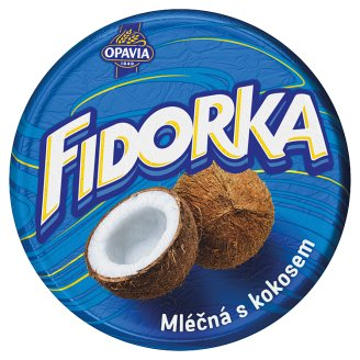 Opavia Fidorka Wafer with Coconut Filling Dipped in Milk Chocolate 30 g