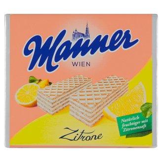 Manner Chrumkavé oplátky plnené citrónovou náplňou 75 g